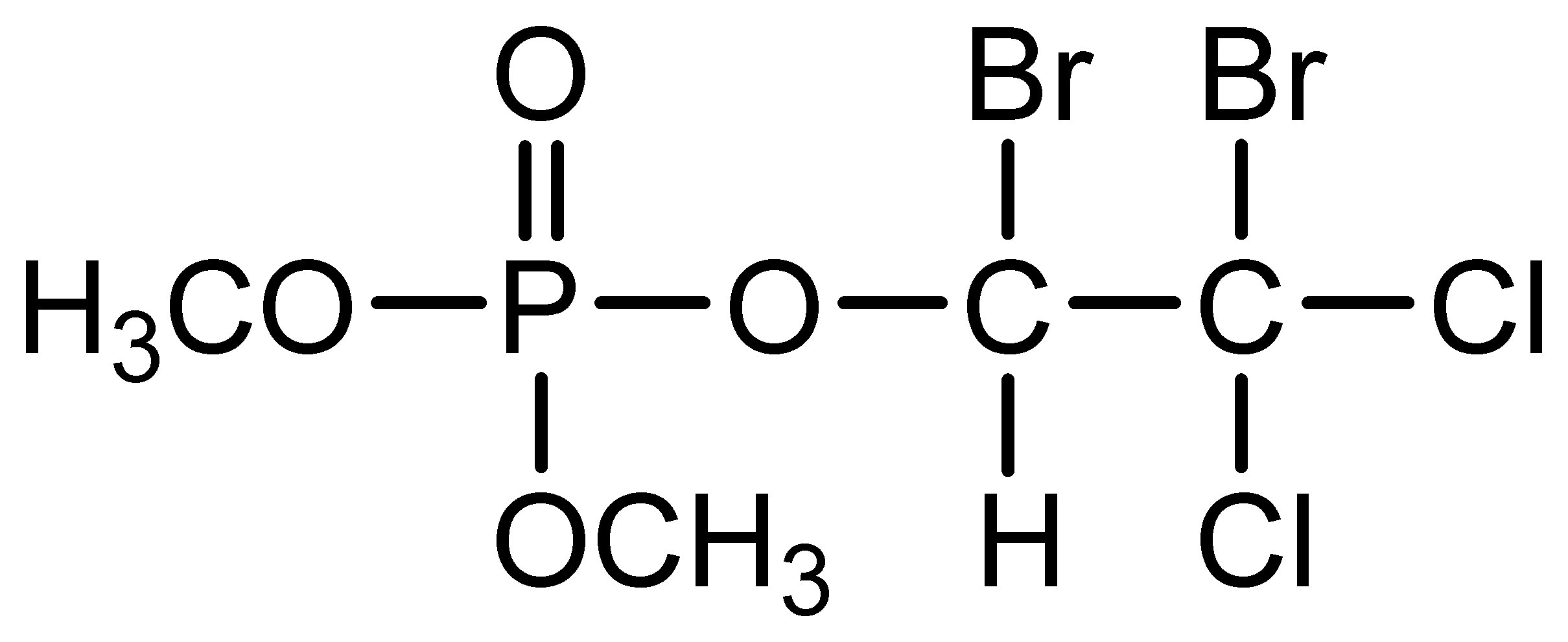 Chemical Structure for Naled
