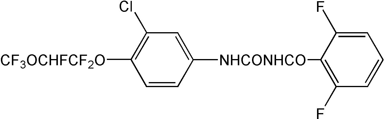 Chemical Structure for Novaluron