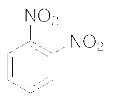 Chemical Structure for o-Dinitrobenzene