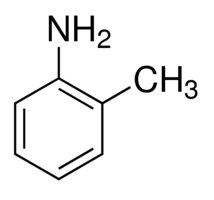 Chemical Structure for o-Toluidine