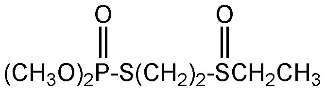 Chemical Structure for Oxydemeton-methyl