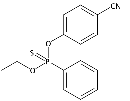 Chemical Structure for Cyanofenphos
