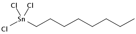 Chemical Structure for n-Octyltin trichloride (Technical)