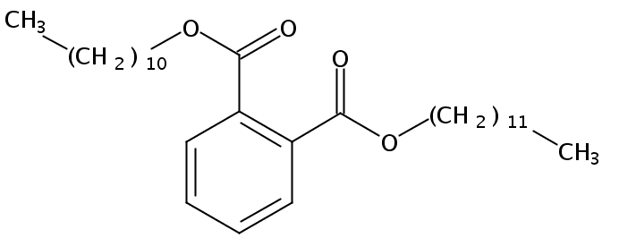 Chemical Structure for Undecyl dodecyl phthalate (Technical)