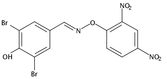 Chemical Structure for Bromofenoxim