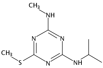 Chemical Structure for Desmetryn