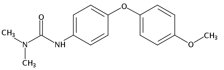 Chemical Structure for Difenoxuron