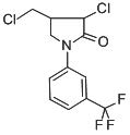Chemical Structure for Flurochloridone