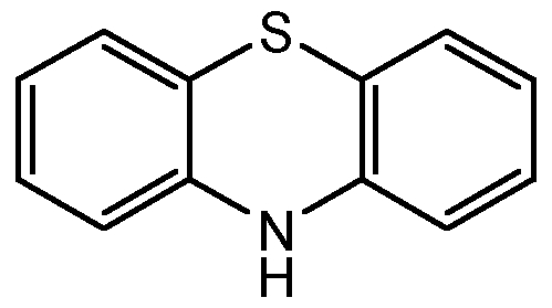 Chemical Structure for Phenothiazine