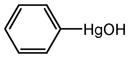 Chemical Structure for Phenyl mercuric hydroxide(Technical)