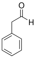Chemical Structure for Phenylacetaldehyde