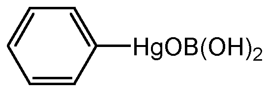 Chemical Structure for Phenylmercury borate(Technical)