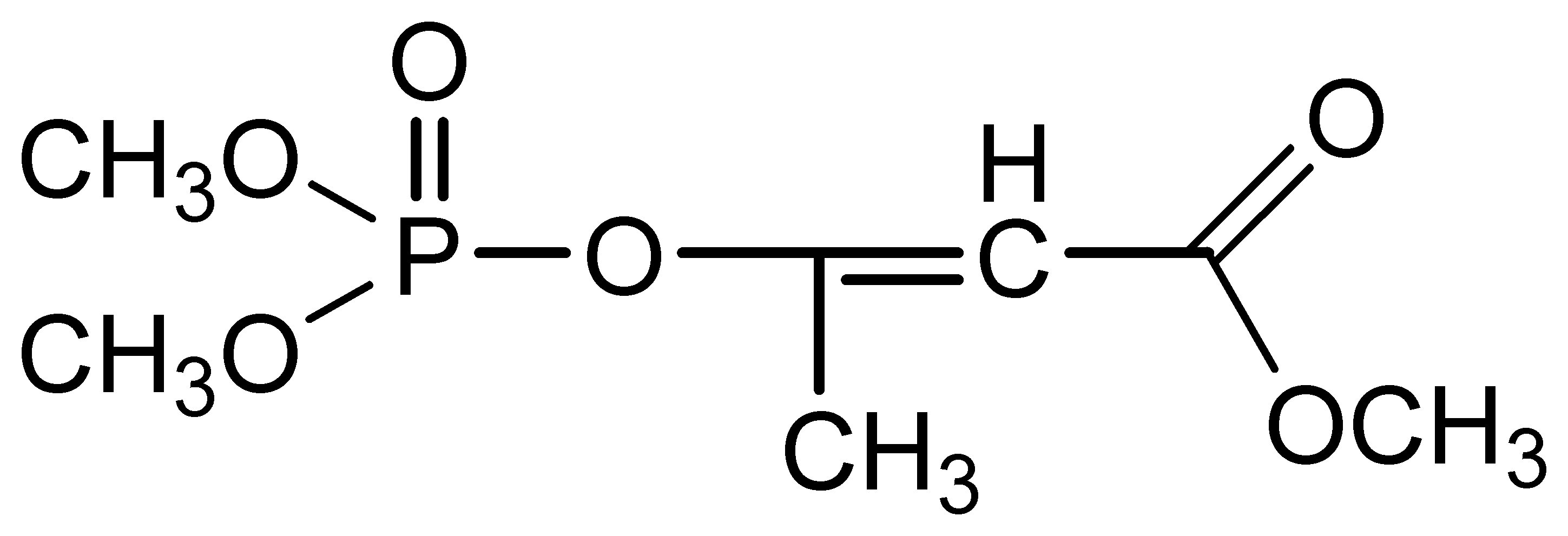 Chemical Structure for Mevinphos