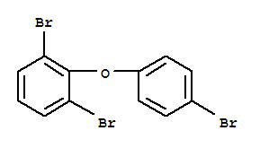 Chemical Structure for 2,4',6-Tribromodiphenyl ether (BDE-32)
