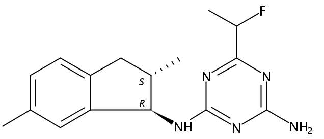 Chemical Structure for Indaziflam