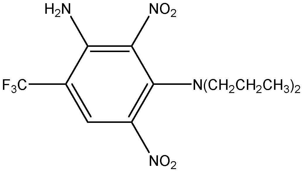 Chemical Structure for Prodiamine