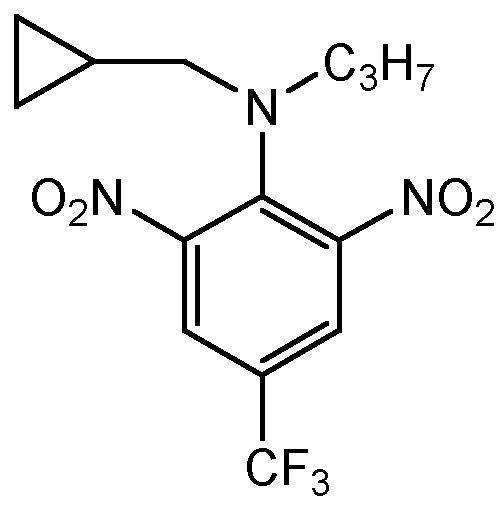 Chemical Structure for Profluralin