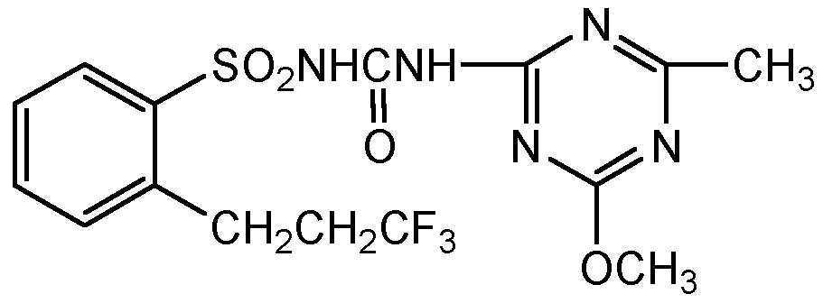 Chemical Structure for Prosulfuron