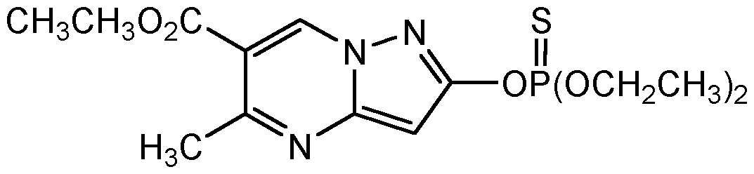 Chemical Structure for Pyrazophos