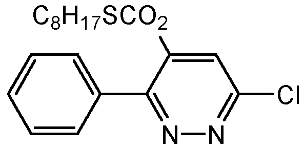 Chemical Structure for Pyridate