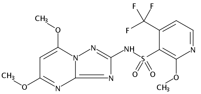 Chemical Structure for Pyroxsulam