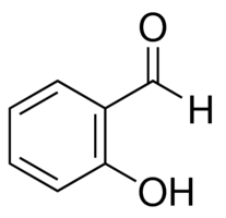 Chemical Structure for Salicylaldehyde