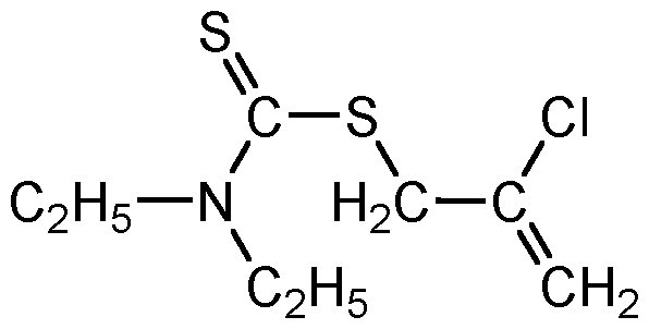 Chemical Structure for Sulfallate