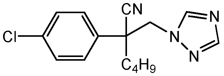 Chemical Structure for Myclobutanil