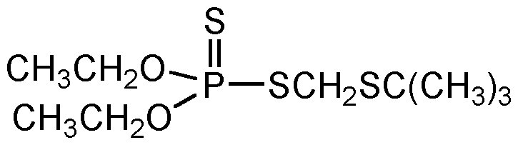 Chemical Structure for Terbufos