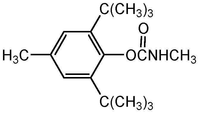 Chemical Structure for Terbutol