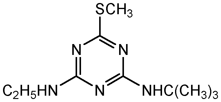Chemical Structure for Terbutryne