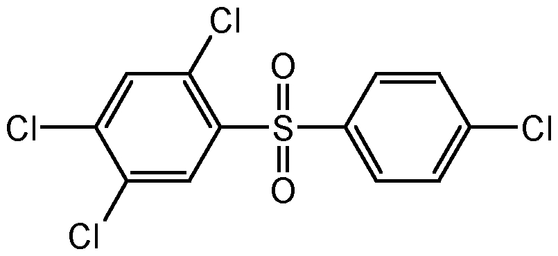 Chemical Structure for Tetradifon