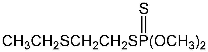 Chemical Structure for Thiometon