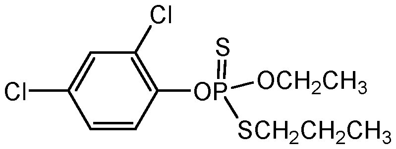 Chemical Structure for Prothiophos