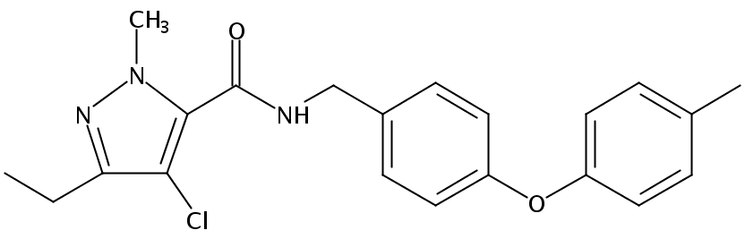 Chemical Structure for Tolfenpyrad
