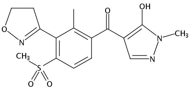 Chemical Structure for Topramezone