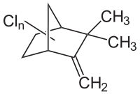 Chemical Structure for Camphechlor