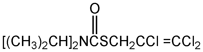 Chemical Structure for Tri-allate