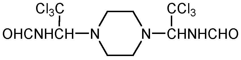 Chemical Structure for Triforine
