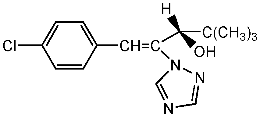 Chemical Structure for Uniconazole-P