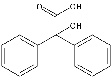 Chemical Structure for Flurenol
