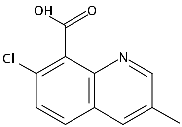 Chemical Structure for Quinmerac