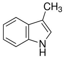 Chemical Structure for 3-Methylindole