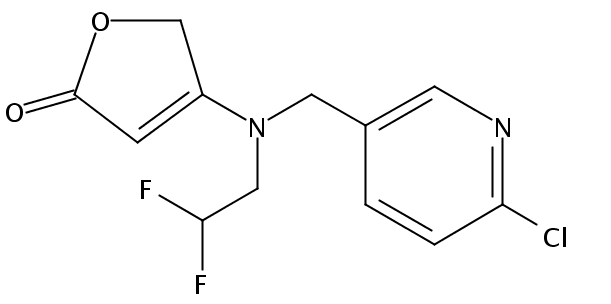 Chemical Structure for Flupyradifurone
