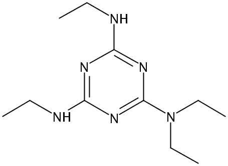 Chemical Structure for Trietazine-ethylamine