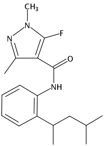 Chemical Structure for Penflufen