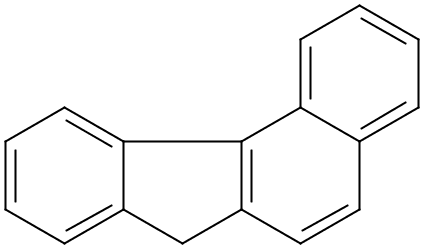 Chemical Structure for 7H-Benzo(c)fluorene