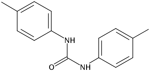 Chemical Structure for 1,3-di-p-tolylurea