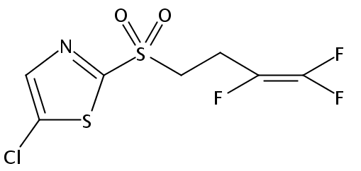 Chemical Structure for Fluensulfone