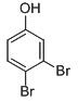 Chemical Structure for 3,4-Dibromophenol